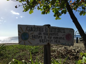 Playa Junquillal - turtle hatchery