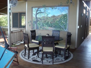 dining room mural